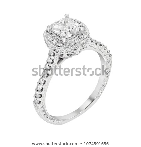 diamond jewel on white background.  Stock photo © AptTone