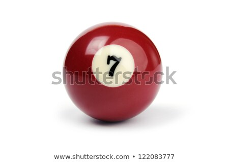 Number 7 billiards Stock photo © Zela