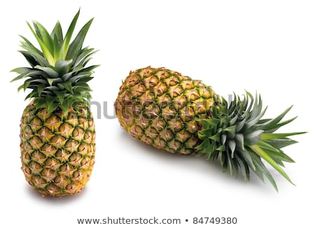Two whole pineapple Stock photo © alrisha