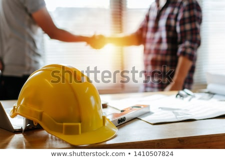 a yellow safety helmet stock photo © bluering
