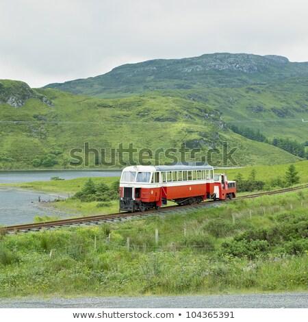 狭い · ゲージ · 鉄道 · アイルランド · 旅行 · エンジン - ストックフォト © phbcz