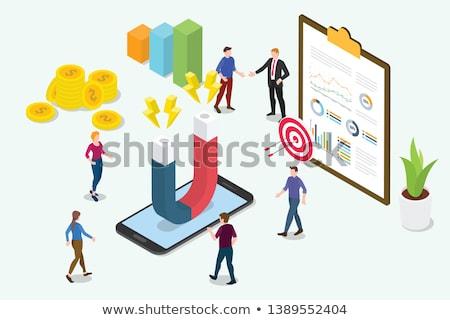 skype · marketing · 3D · business - stockfoto © tashatuvango