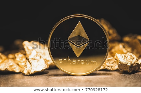 Pay with Ethereum cryptocurrency Stock photo © stevanovicigor
