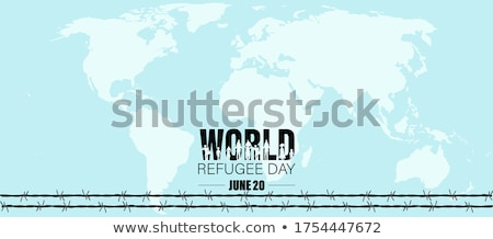 20 june world refugee day stock photo © olena