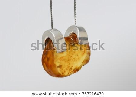 forma · de · coração · ícone · longo · sombra · projeto · cadeia - foto stock © blackmoon979