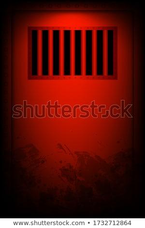 Cela porta prisão célula Foto stock © albund
