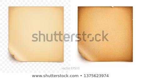 Old Cardboard Scrap Stock photo © 5xinc