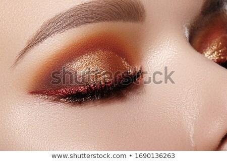 グリッター アイシャドウ 美 化粧品 メイク 誰も ストックフォト © IS2