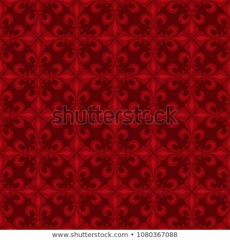 Koronki lilie czerwony antyczne wschodniej Zdjęcia stock © Glasaigh