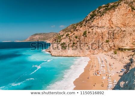 Seashore view of Antalya Stock photo © Givaga