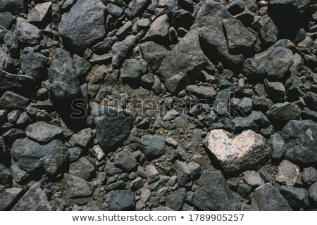 natural resources minerals among rocks and stones stock photo © robuart