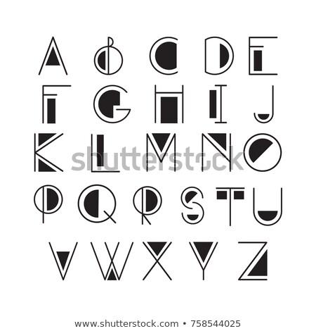 言語 学校 現代 行 デザイン スタイル ストックフォト © Decorwithme
