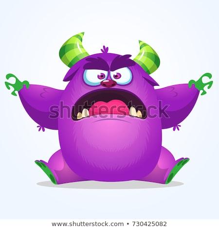 ugly gremlin waving stock photo © cthoman