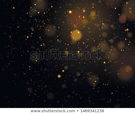 Christmas background concept. Shimmering Christmas decorations with gift, tree, Santa Claus and cand Stock photo © alphaspirit