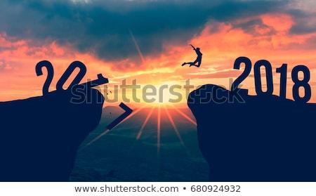 Goodbye Year 2018 Concept Stock photo © ivelin