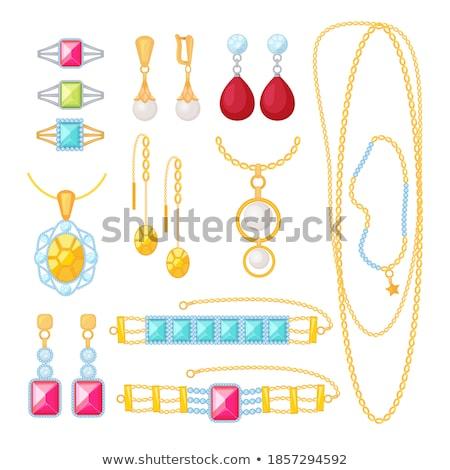 Stockfoto: Realistic Diamonds In Different Colors