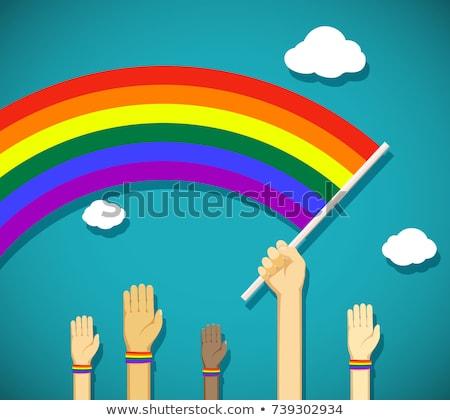 ゲイ 誇り フラグ パレード ストックフォト © nazlisart