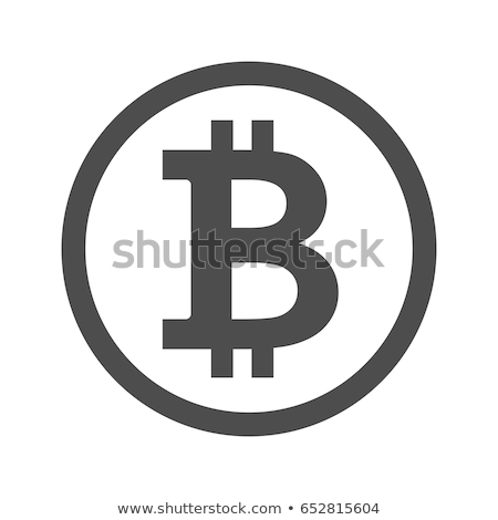 Bitcoin symbol. Vector icon. Stock photo © netkov1