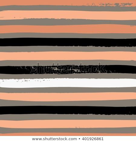 Vintage Polka Dot Pattern. White pattern with black stripes seamless vector image Stock photo © lemony