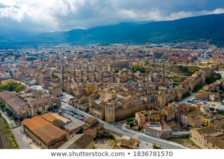 Montblanc, province Tarragona, Catalonia Stock photo © LianeM