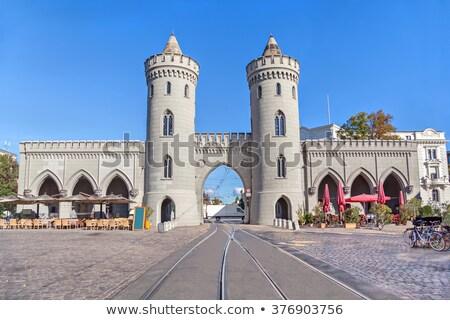 Kapu Németország egy három megőrzött első Stock fotó © borisb17