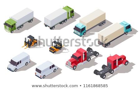 トラック · ベクトル · 広告 · 企業 · アイデンティティ - ストックフォト © ipajoel