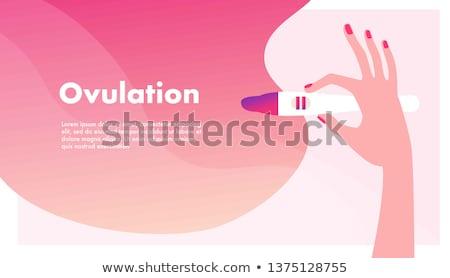 ciąży · apetyt · ilustracja · kobieta · w · ciąży · pusty - zdjęcia stock © pikepicture