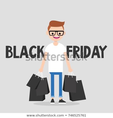 男 カード スーパー 価格 ブラックフライデー ストックフォト © robuart