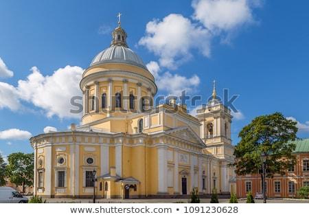 święty Rosja klasztor budynku miasta podróży Zdjęcia stock © borisb17