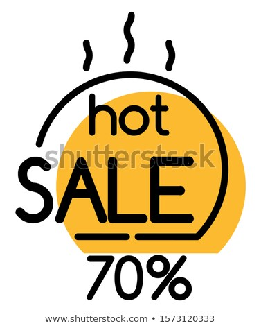 Verkoop hot prijs winkelen korting deal Stockfoto © robuart