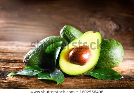 raw vegetables on a white rustic wooden table Stock photo © nito