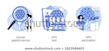 Human papillomavirus vector concept metaphors. Stock photo © RAStudio