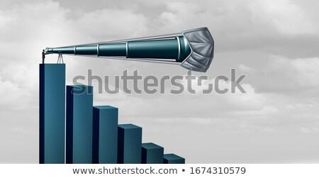 Gospodarki spadać prognoza wyzwanie koronawirus działalności Zdjęcia stock © Lightsource