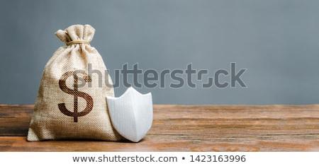 Financière recettes assurance inflation bureau homme Photo stock © AndreyPopov