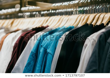 clothes on racks in shop stock photo © paha_l