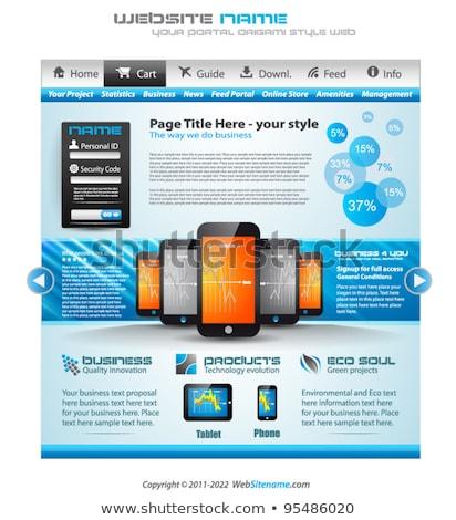 Premium infographics and Web stuff  master collection Stock photo © DavidArts
