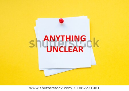 Unclear time Stock photo © silent47