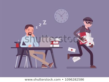 robbery of the businessman stock photo © cookelma