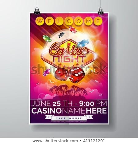 summer poker banners vector illustration stock photo © carodi