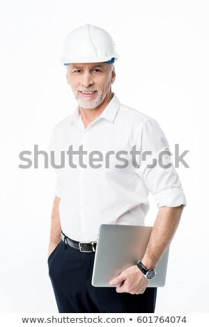 Stock photo: A mature male architect.