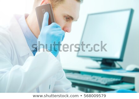 Stok fotoğraf: Doctor Getting A Second Opinion