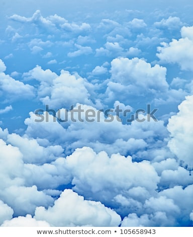 Vertical Background - Photo Of Clouds From Aerial Stock fotó © pzAxe