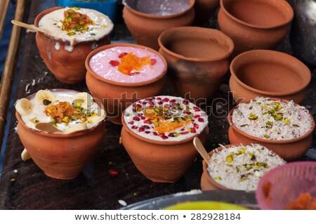 indian lassi drink Stock photo © zkruger