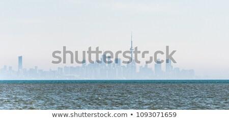 Ondulado Toronto ilustración ciudad Foto stock © blamb
