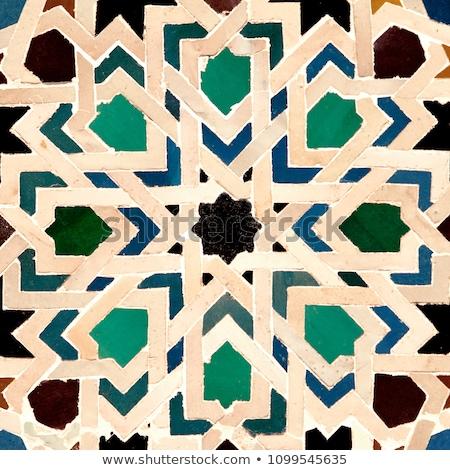 ストックフォト: 細部 · アルハンブラ宮殿 · 表示 · アーキテクチャ · 宮殿