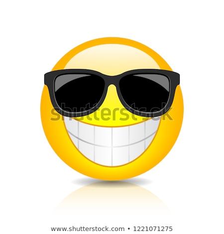 Hideg csávó napszemüveg boldog űr jókedv Stock fotó © photography33