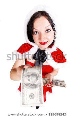 año · nuevo · negocios · dos · cookies · rojo · uno - foto stock © oleksandro
