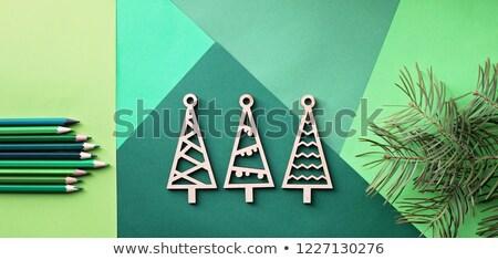 модель · дерево · покрытый · скорости - Сток-фото © samsem