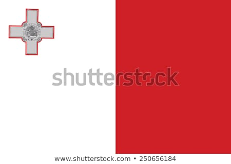 bandera · Malta · Europa · país · tela · textiles - foto stock © ustofre9