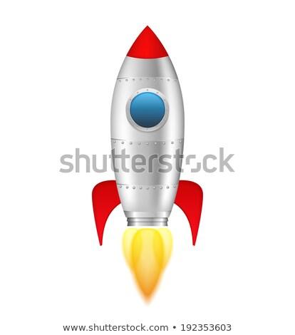 Cartoon spaceship. eps10 Stock photo © Larser